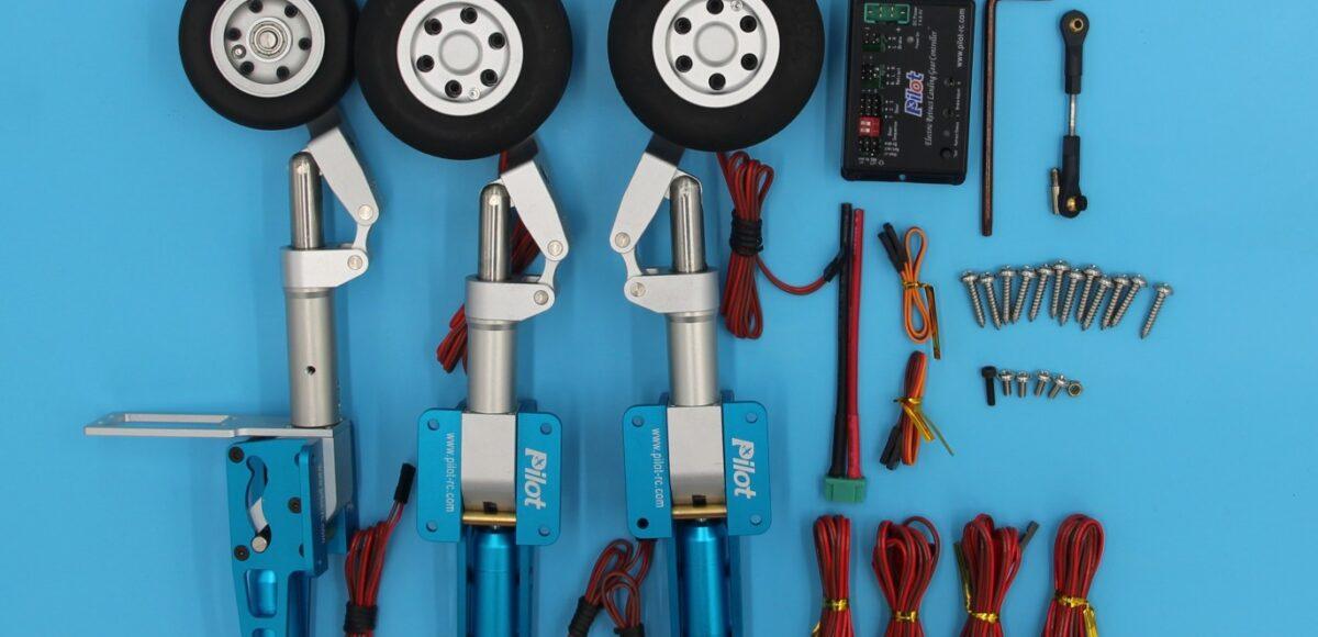 Electric Retracts Set – 12Kg+ - Pilot-RC