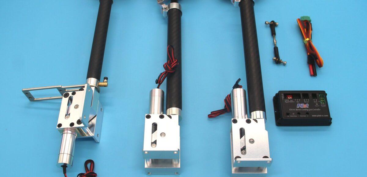 Carbon Electric retract combo for J10 - Pilot-RC