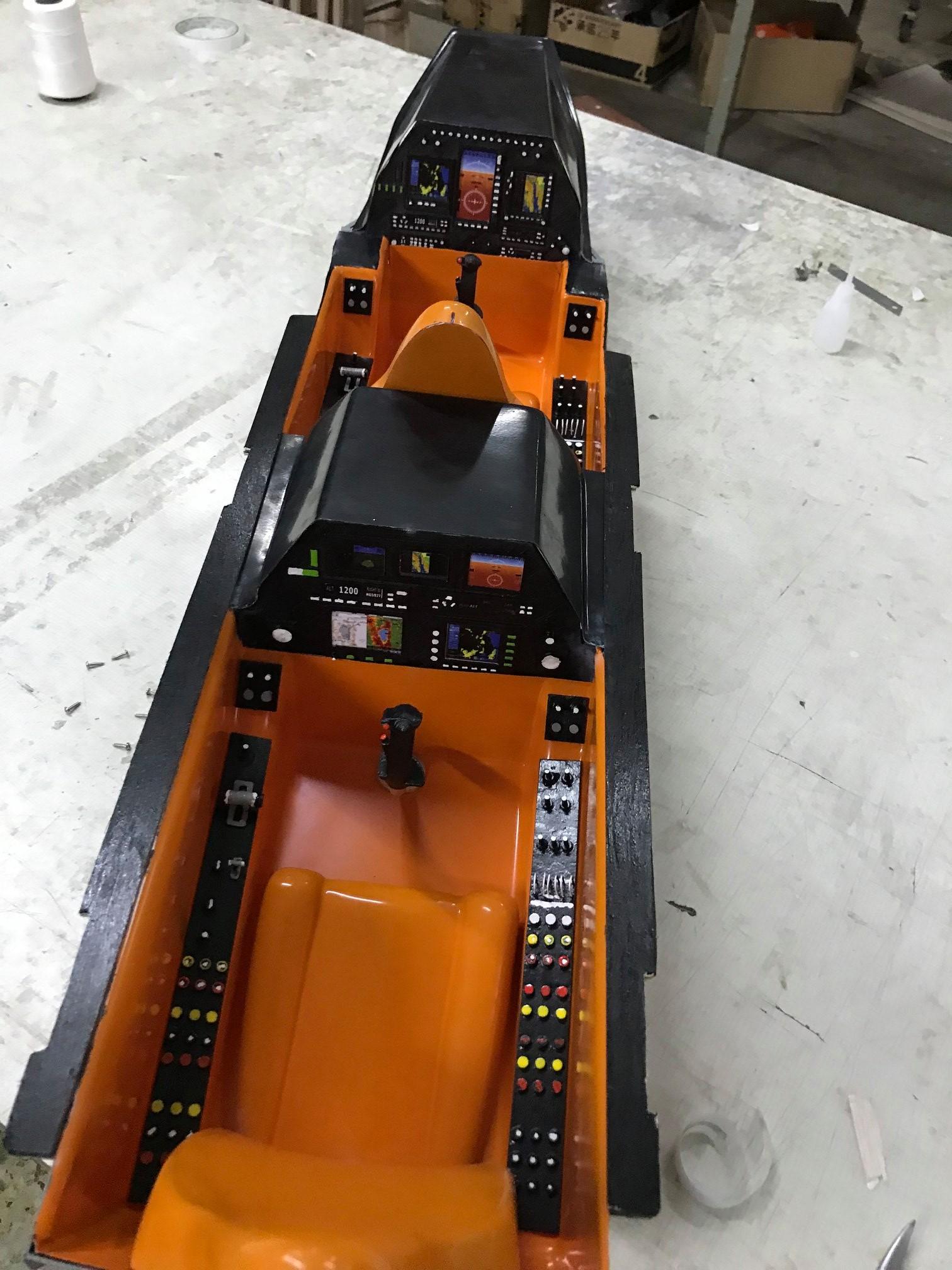 Viper Cockpit3 Pilot Rc